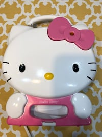 Hello kitty waffle maker , makes 4 different shapes