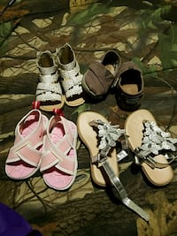 toddler's four pairs of shoes Boonsboro, 21713