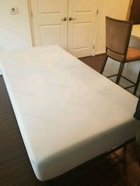 Twin XL Mattress, Metal Frame, Gel Mattress Topper Washington, 20024