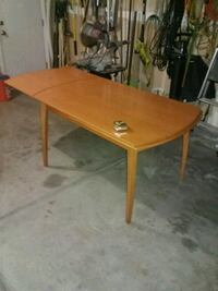Extended kitchen table