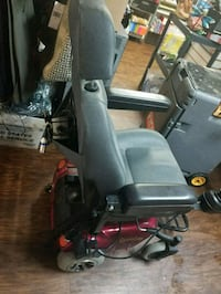 black and red mobility wheelchair Indianapolis, 46241
