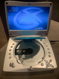 Portable DVD player w/ charger