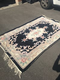 Rug beautiful design thick approximately 5x8ft Mississauga, L5N 6Z4