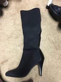 Nine West - Womens microfiber & leather boots
