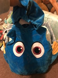 Dory costume size 6-12 months  Fresno, 93701