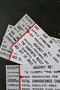 Against Me tickets Oct 16 Toronto, M5B 1N8