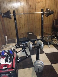BENCH AND WEIGHT SET - Firm! Gaithersburg, 20886