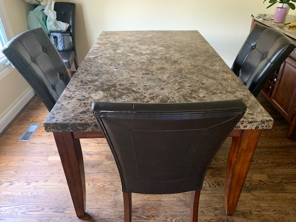 Dining Table Set - 6 chairs(Negotiable) f3f173a8-c522-4269-ad7c-6c9832d15dd5