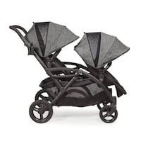 Contours option elite tandem stroller in carbon with accessories Calgary, T2K