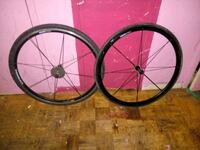 two black bicycle rims with tires Toronto, M4X 1M2