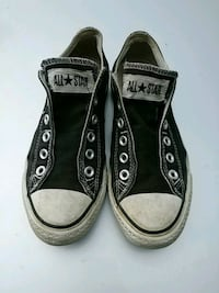 pair of black Converse All Star low-top sneakers Toronto, M9C 4A9