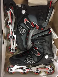 pair of black-and-red inline skates Dartmouth, B3A 1M6