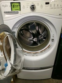 Whirlpool front load washer working perfectly