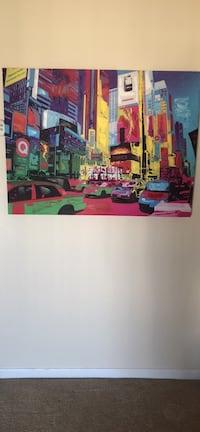 Colorful New York wall art