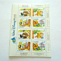 Mint 1981 Winnie the Pooh Walt Disney World Florida stamp booklet Toronto