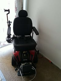 black and red electronic wheelchair Anaheim, 92804