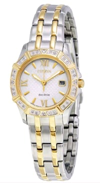 NEW $475 SOLOR Citizens womens Diamond WATCH ECHO DRIVE 2year WARRANTY Manchester, 03103