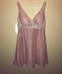 Nude/Beige/Pink Dress with sparkly Beaded Waist Toronto, M6J 1X8