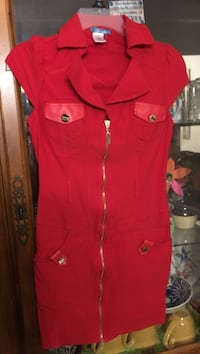 Ladies dress, fitted sz XL but more like L Springfield, 62704