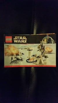 Lego Star Wars Battle of Hoth Instructions 7749 538 km
