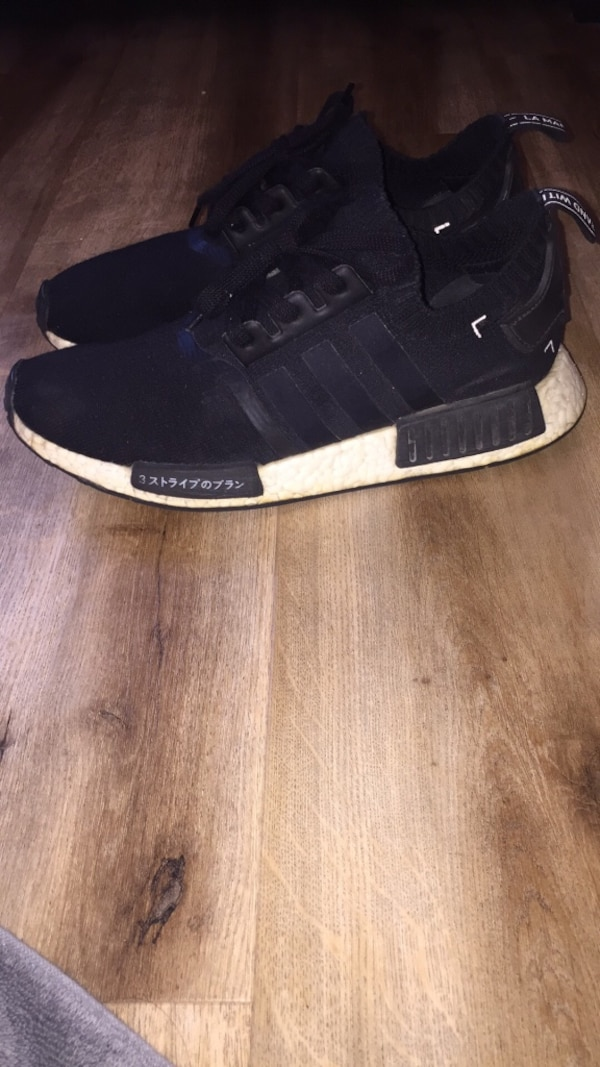 new products c9f7c c6572 adidas NMD R1 Japan Boost Black Size 9