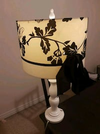 Large white and black table lamp 500 km