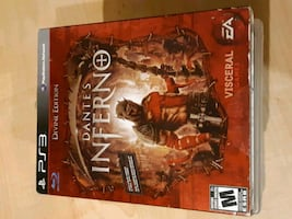 PS3 Dante's Inferno game