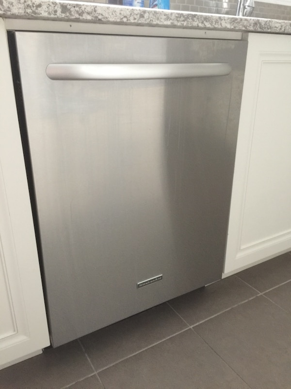 Stainless Steel Kitchenaid Dishwasher