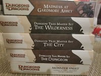 Lot of 5 full Dungeons & Dragons Box Sets Calgary, T3E 2A2