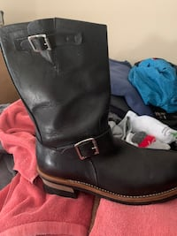 Steel toe riding boots size 9 new Surrey, V4N 6C5