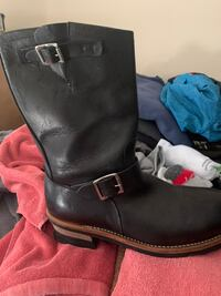 Steel toe riding boots size 9 new