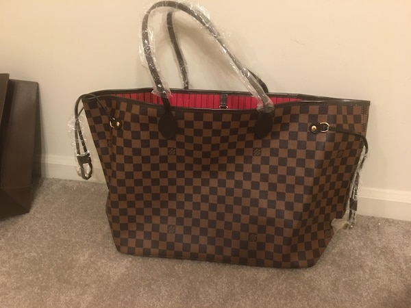 Used Louis Vuitton Damier Ebene Neverfull GM Tote Purse for sale in  Naperville f5a14914e50ca