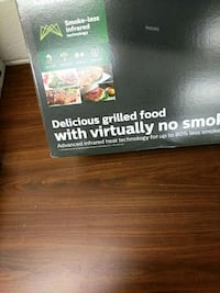 Philips indoor grill brand new Toronto, M3J 2X7
