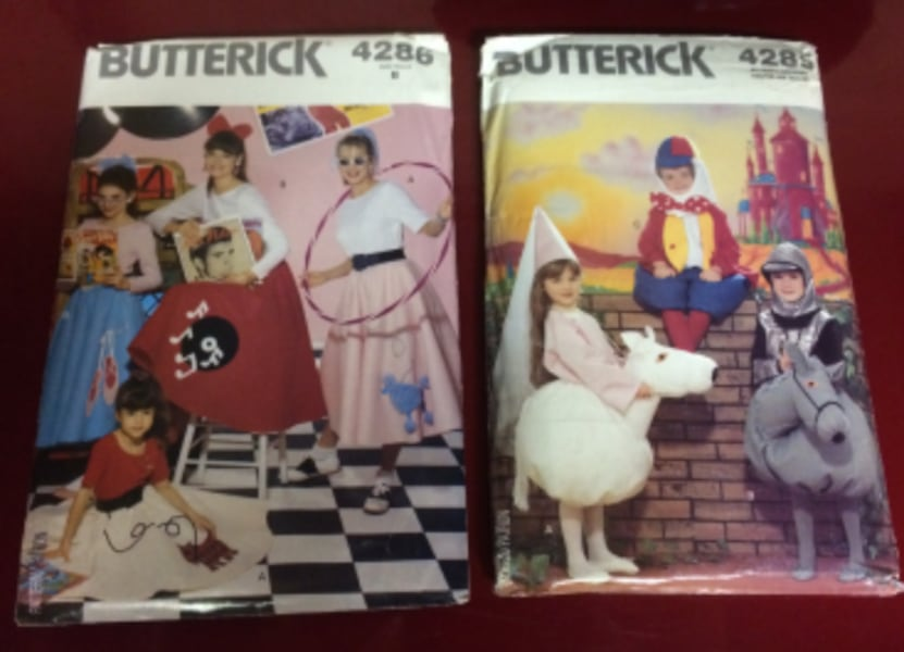 Costume Sewing Patterns For Sale - Never Used 5ddcf455-57d7-4cb8-a52e-1b1b724824a0