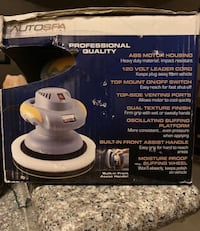 "AUTO SPA 9-10"" ORBITAL AUTO POLISHER."