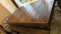 Rustic Bench dining table JUST THE TABLE Brampton, L6V 0V4