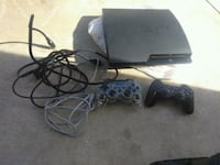 black Sony PS3 slim console with controller Sacramento, 95821