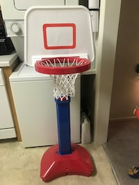 Fisher price basketball set