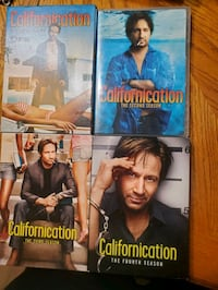 Californication season 1-4
