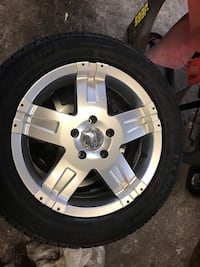 235/55R17 rims and tires. 5x114.3
