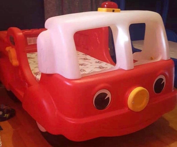Fire Engine Toddler Bed.Fire Truck Toddler Bed
