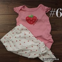Baby girl matching sets and dresses