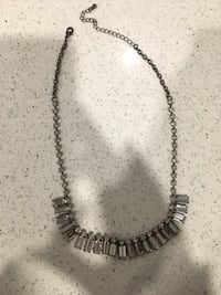 silver-colored beaded necklace Oakville, L6M 3N1