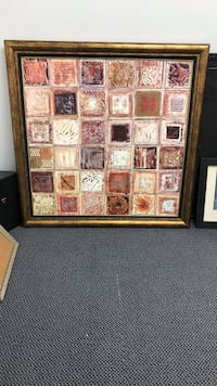 Beautiful painting in a solid frame