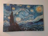 Starry Night Canvas Print Dorval, H9S 1R7