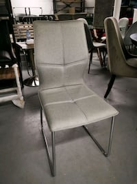 Soft chair fabric gray color