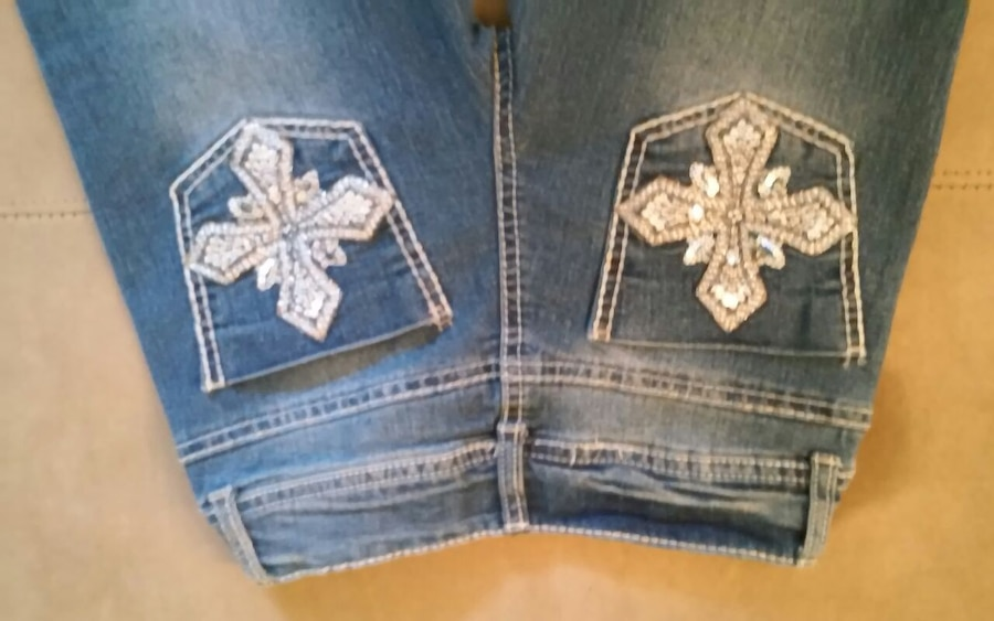Photo Little Girl's Jeans Size 10 REDUCED!