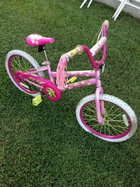 toddler's pink and white bicycle Portsmouth, 23707