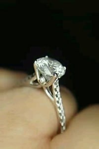 2.55 carat diamond solitaire ring