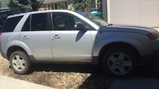silver Saturn Vue2004 with the V6 motor Honda